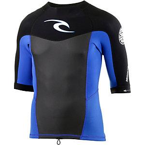 Rip Curl Dawn Patrol Longs Sleeve Jacket - Blue Neoprenshirt Herren blau/schwarz