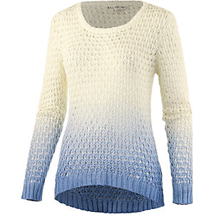 Billabong Hazy Days Strickpullover Damen blau/offwhite