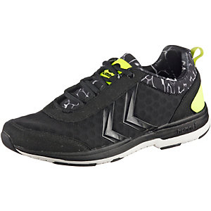 hummel Trainstar Fitnessschuhe Damen schwarz/gelb