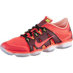 Nike Zoom Fit Agility 2 Fitnessschuhe Damen orange/grau