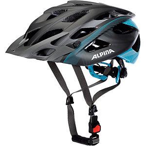 ALPINA D Alto LE Fahrradhelm schwarz/blau