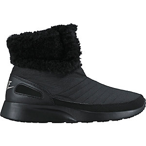 Nike Wmns Kaishi Winter High Sneaker Stiefel Damen BLACK/METALLIC SILVER