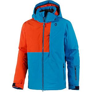 scott terrain dryo snowboardjacke herren blau orange im. Black Bedroom Furniture Sets. Home Design Ideas