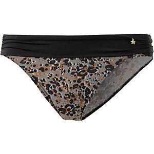 ESPRIT Varamon Beach Bikini Hose Damen taupe/schwarz