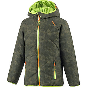 Ziener Skijacke Jungen grün/hellgrün