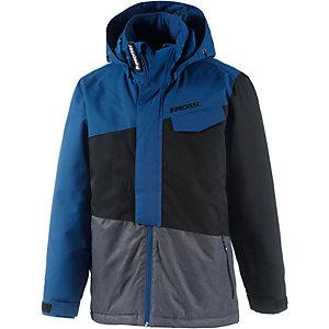 Protest Snowboardjacke Jungen anthrazit/grau/blau