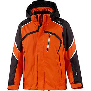 cmp skijacke jungen orange schwarz wei im online shop von. Black Bedroom Furniture Sets. Home Design Ideas
