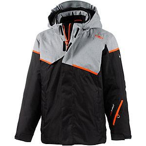 CMP Skijacke Jungen schwarz/grau/orange