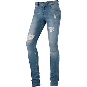 oliver skinny fit jeans damen destroyed denim im online shop von. Black Bedroom Furniture Sets. Home Design Ideas