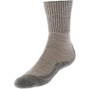Falke TK1 Wool Wandersocken Damen grau