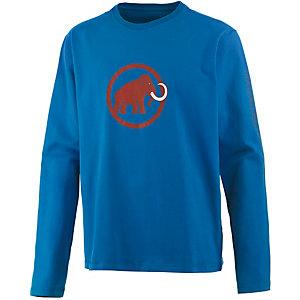 Mammut Snow Printlangarmshirt Herren blau/orange
