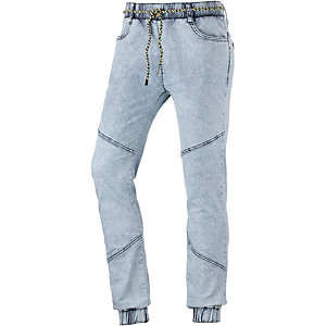 nümph Jeggings Damen bleached denim