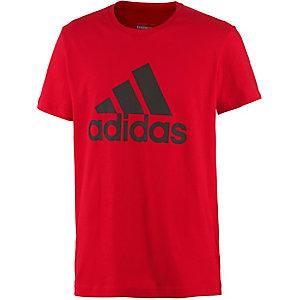 adidas Logo Funktionsshirt Herren rot