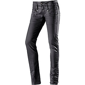 Herrlicher Pitch Skinny Fit Jeans Damen schwarz
