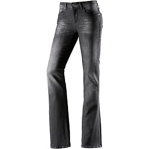Mavi Bootcut Jeans Damen dark denim