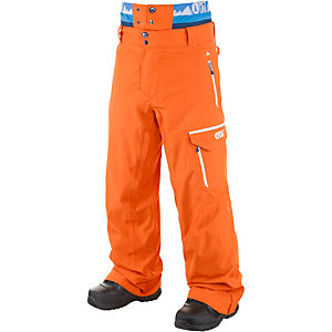 Picture Books Snowboardhose Herren orange