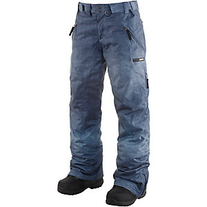 WLD Waiting for Snow Snowboardhose Damen denim