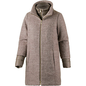 TOM TAILOR Wollmantel Damen beige/grau