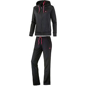 adidas Trainingsanzug Damen schwarz/pink