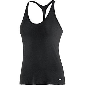 Nike Funktionstank Damen schwarz