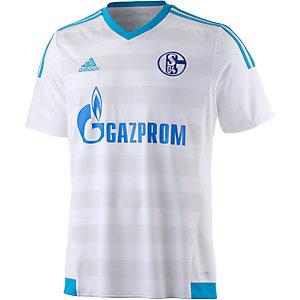 adidas Schalke 04 15/16 Auswärts Fußballtrikot Herren weiß