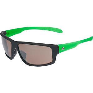 adidas Sonnenbrille BLACK MATT/GREEN