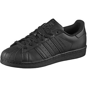 adidas Superstar Sneaker Herren schwarz