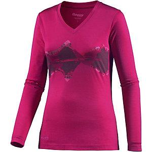 Bergans Echo Funktionsshirt Damen pink