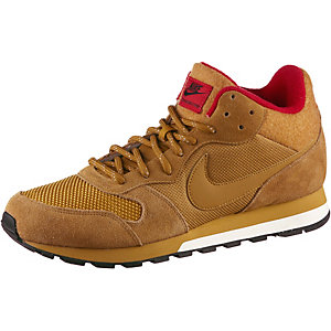 Nike MD Runner 2 MID Winter Sneaker Herren WHEAT/WHEAT-BLACK-UNVRSTY RED