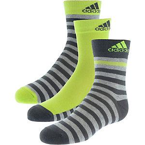 adidas Socken Pack Kinder grün/anthrazit/graumelange