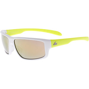 adidas Sonnenbrille WHITE MATT/YELLOW