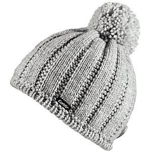 Eisbär Mütze Levke Pompon Bommelmütze grau