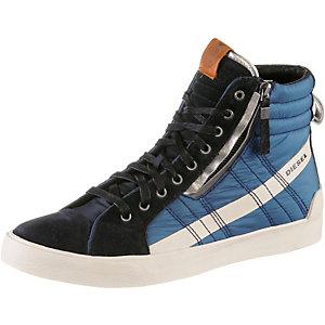 DIESEL D-String Sneaker Herren anthrazit/blau