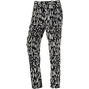 Vero Moda Easy Printhose Damen schwarz/weiß