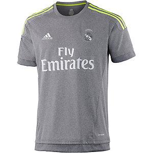 adidas Real Madrid 15/16 Auswärts Fußballtrikot Herren grau