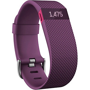 FitBit Charge HR Fitness Tracker pflaume