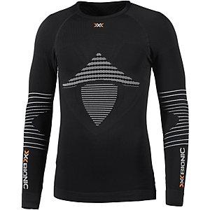 X-Bionic Kompressionsshirt Herren schwarz/weiß