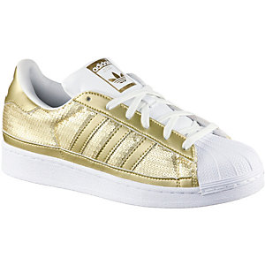 Adidas Superstar Frauen Gold