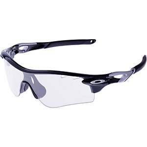 Oakley RADARLOCK Sportbrille polished black/ silver/clear black iridium photocromic vente