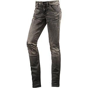 G-Star 5620 Zip Mid Skinny Fit Jeans Damen destroyed denim
