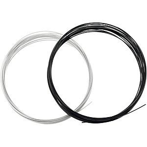 Dunlop Kunstsaite schwarz/silberfarben