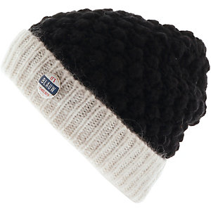 Maison Scotch Beanie Damen navy/weiß