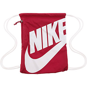 Nike Heritage Turnbeutel rot/weiß