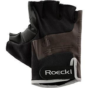 Roeckl Ovaro Fahrradhandschuhe schwarz/braun