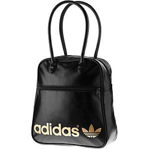 adidas Bowlingbag Handtasche schwarz/goldfarben