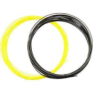 Dunlop D Tac Revolution NT 1.31/1.25 Set Kunstsaite schwarz/gelb