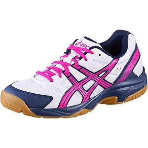 ASICS GEL-VISIONCOURT Volleyballschuhe Damen weiß/pink/blau
