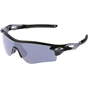 Oakley Radarlock Path Sportbrille polished black/VR28 black iridium polarized