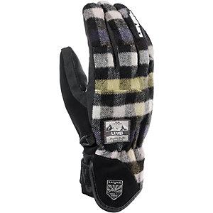 Level Handschuh Suburban Snowboardhandschuhe schwarz/grau