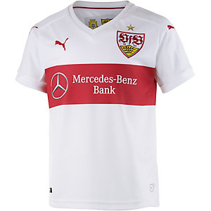PUMA VfB Stuttgart 15/16 Heim Fußballtrikot Kinder weiß/rot